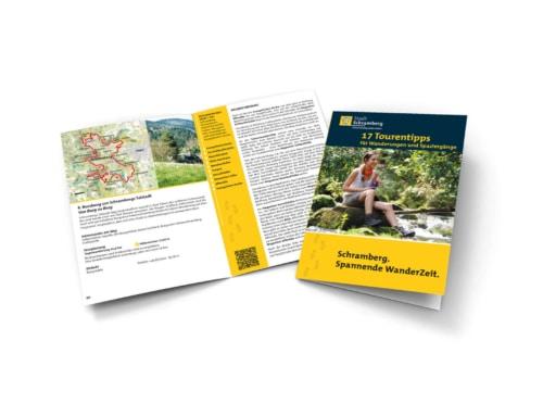 Schramberg: Gestaltung Wanderbroschüre