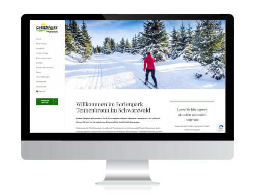 Ferienpark Tennenbronn – neue Website